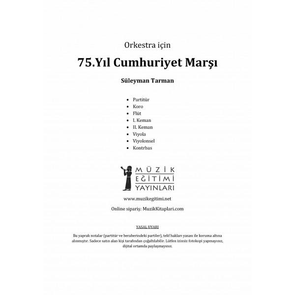 75. Yıl (Cumhuriyet) Marşı