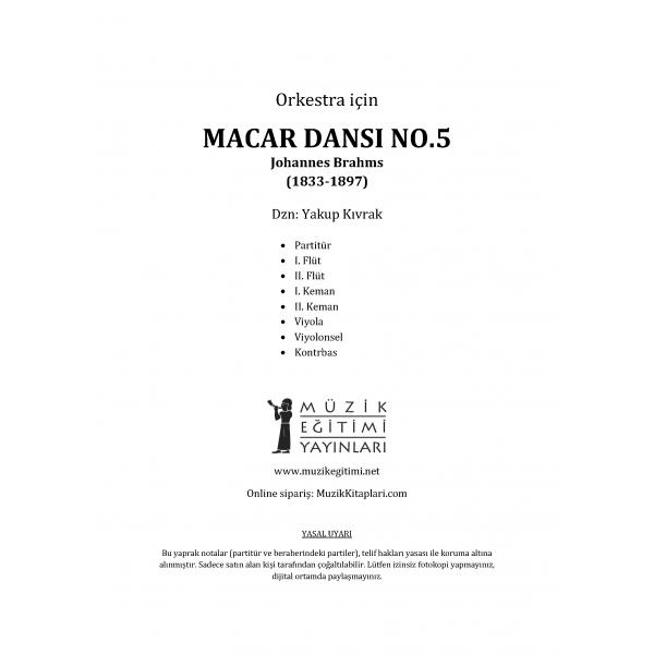 Macar Dansı No.5 - Brahms