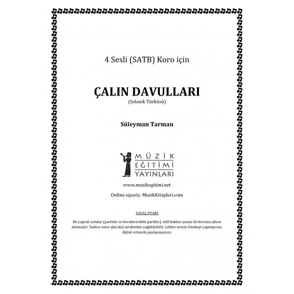 Çalın Davullar - SATB - Süleyman Tarman