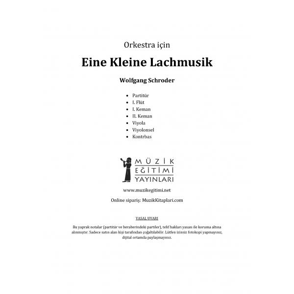 Eine Klaine Lachmusik - Wolfgang Schoreder