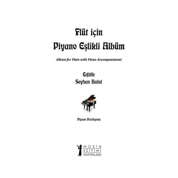 Flüt için Piyano Eşlikli Albüm (PDF)