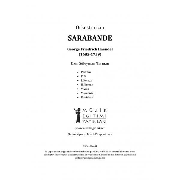 Sarabande - Haendel
