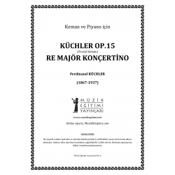 Küchler Op.15 Re Major Konçertino