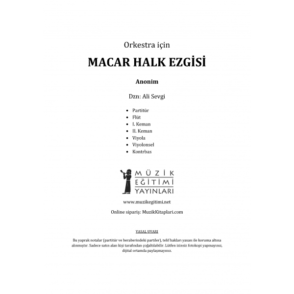 Macar Halk Ezgisi