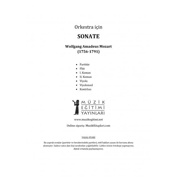 Sonate - Mozart