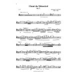 Chant du Menestrel, Op.71, Glasunov