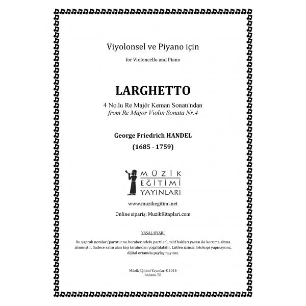 Larghetto, Handel