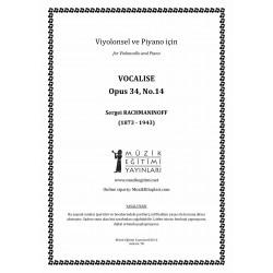 Vocalize, Op.34, No.14, Rachmaninoff