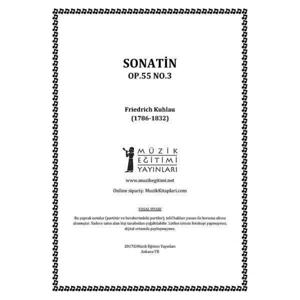 Sonatin Op.55 No.3