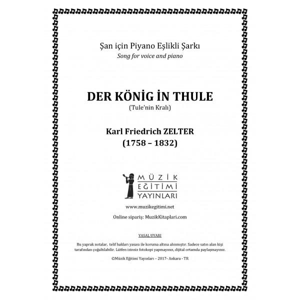 Der König in Thule - Tule'nin Kralı