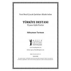Türkiye Destanı - S.Tarman - Piyano Eşlik Partisi