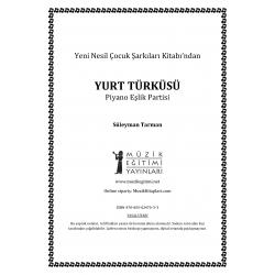 Yurt Türküsü - S.Tarman - Piyano Eşlik Partisi