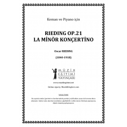 Rieding Op.21 La Minor Konçertino