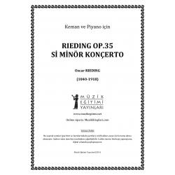 Rieding Op.35 Si Minor Konçerto
