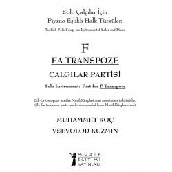 Halk Türküleri - Fa Transpoze Çalgı Partisi