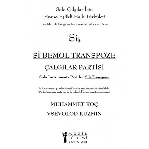 Halk Türküleri - Sib Transpoze Çalgı Partisi