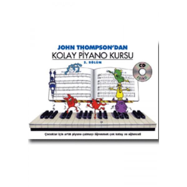 Thompson Kolay Piyano Kursu-2