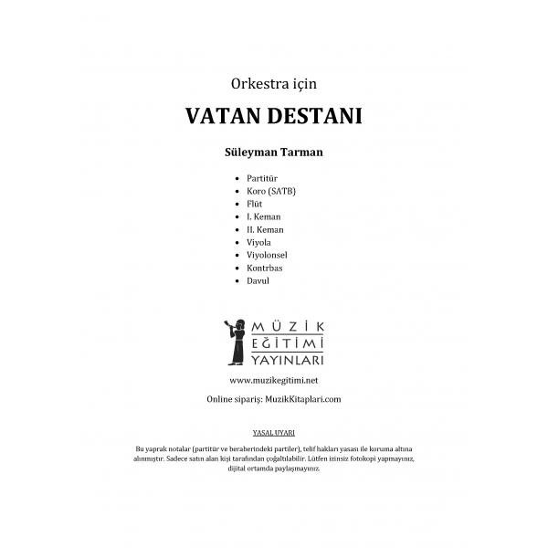 Vatan Destanı - Süleyman Tarman