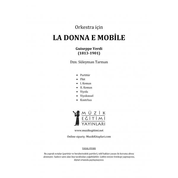 La Donna E Mobile - Verdi