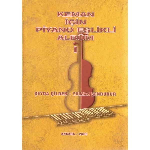 Keman için Piyano Eşlikli Albüm