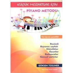 Küçük Mozartlar İçin Piyano Metodu-1
