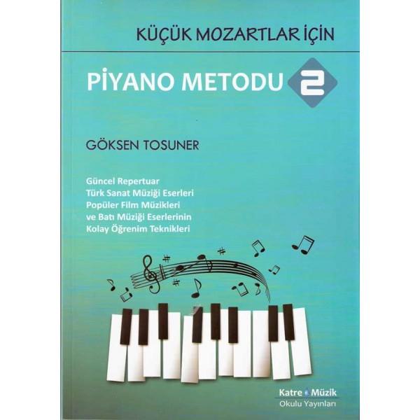 Küçük Mozartlar İçin Piyano Metodu-2