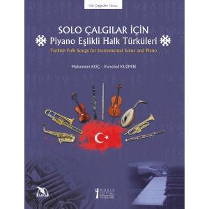Solo Çalgılar için Piyano Eşlikli Halk Türküleri