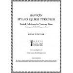 Şan için Piyano Eşlikli Türküler-PDF Kitap